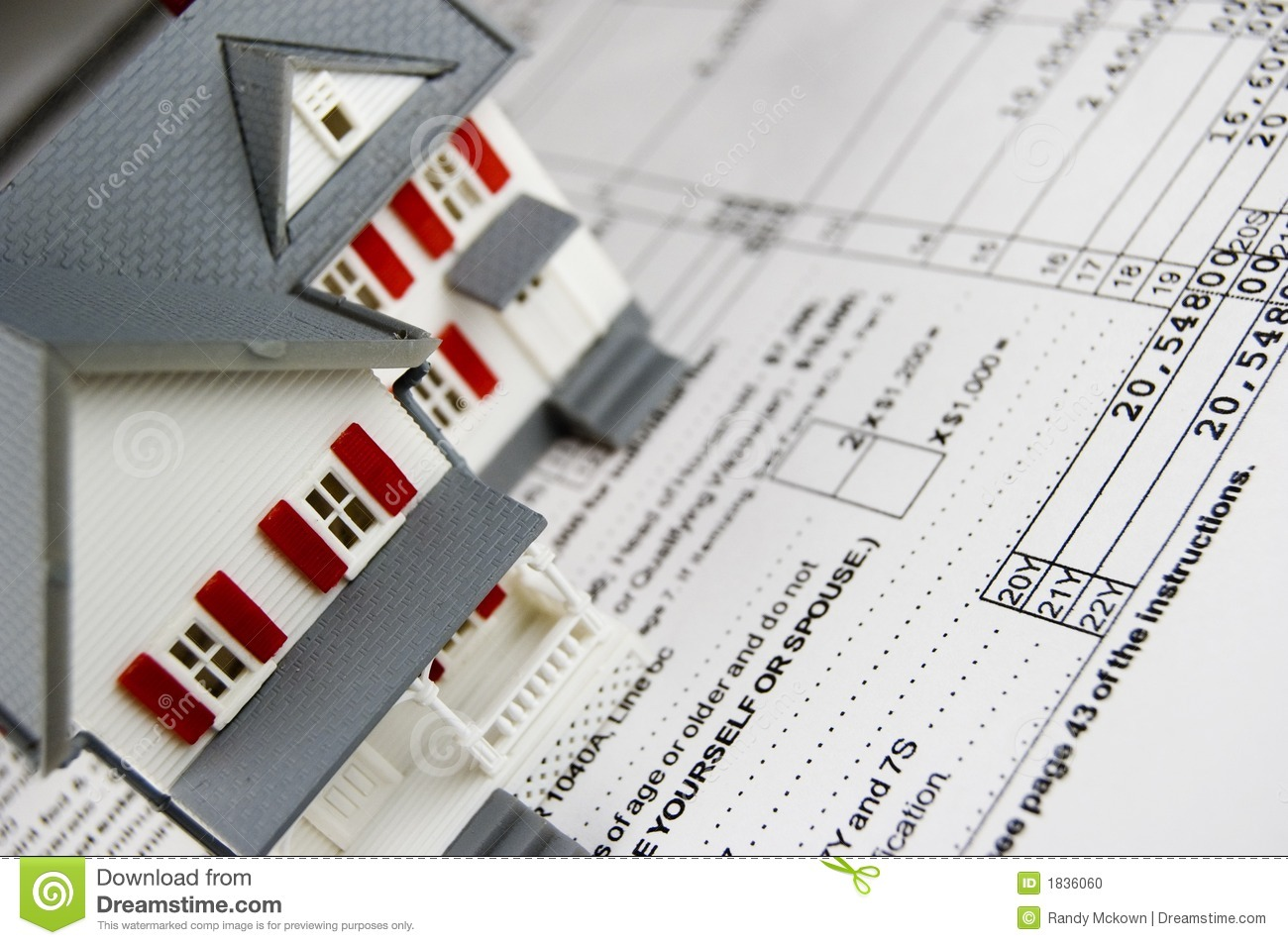 Property taxes stock photo image 1836060 for Household bargaining and the design of couples income taxation