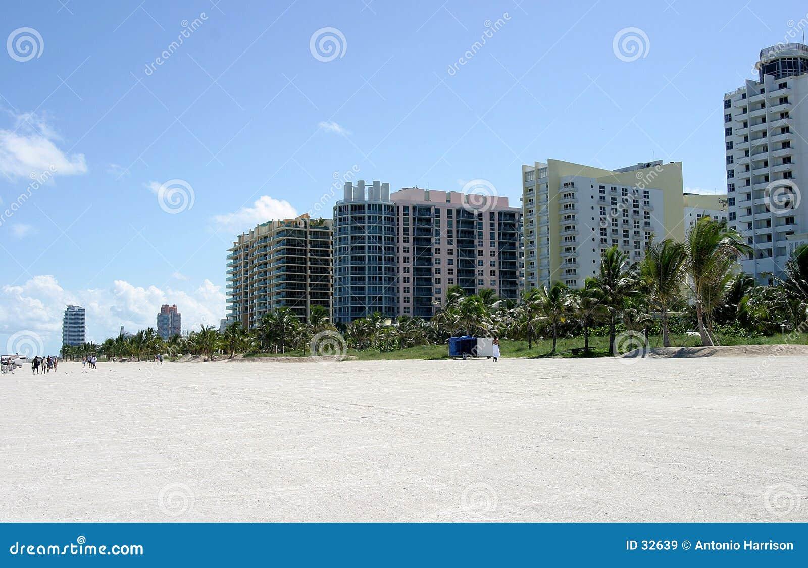 Propiedades horizontales del sur de la playa