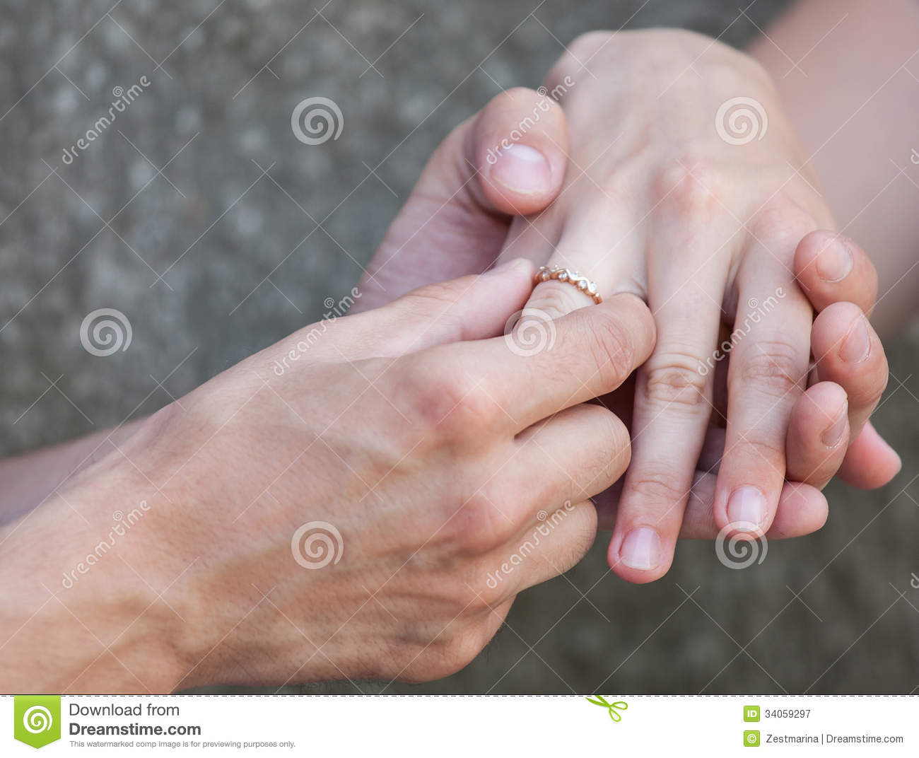 Proposal of marriage stock image. Image of ring, hand ...