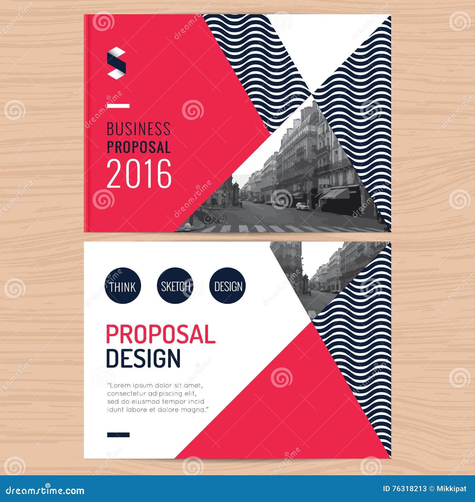 Proposta pulita moderna di affari, rapporto annuale, opuscolo, aletta di filatoio, opuscolo, modello corporativo di progettazione
