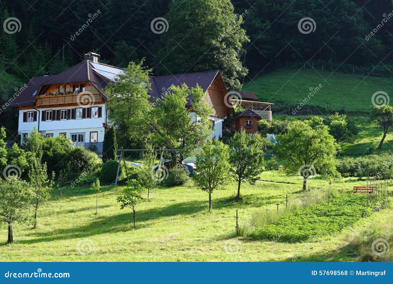 Propriété de maison de forêt noire