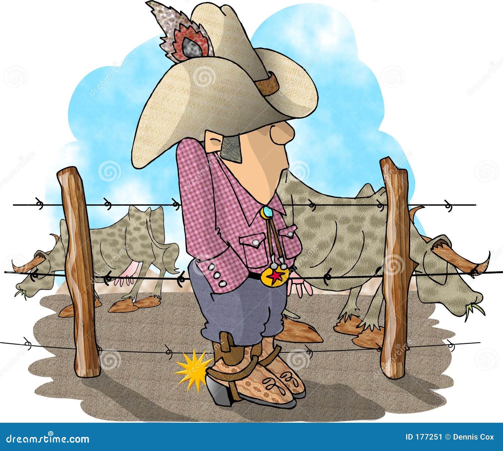 Proprietario di ranch del bestiame