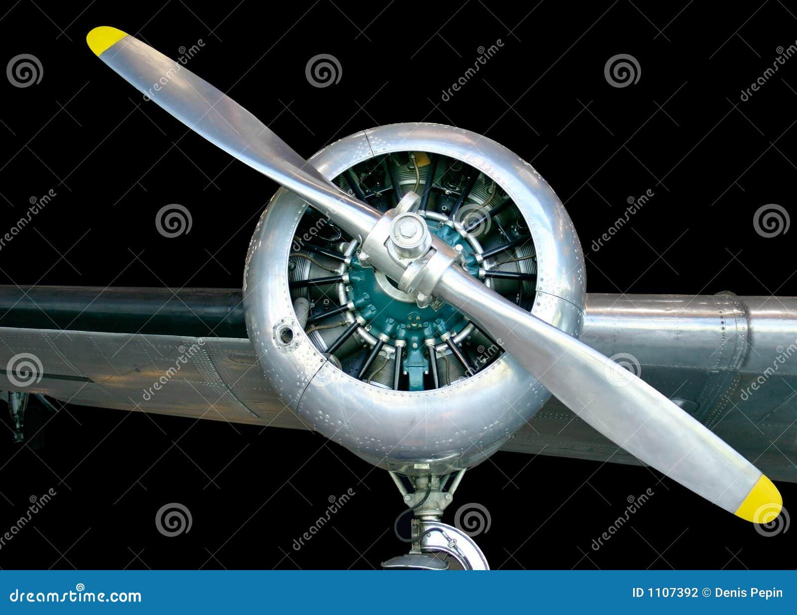 Propulsor de los aviones