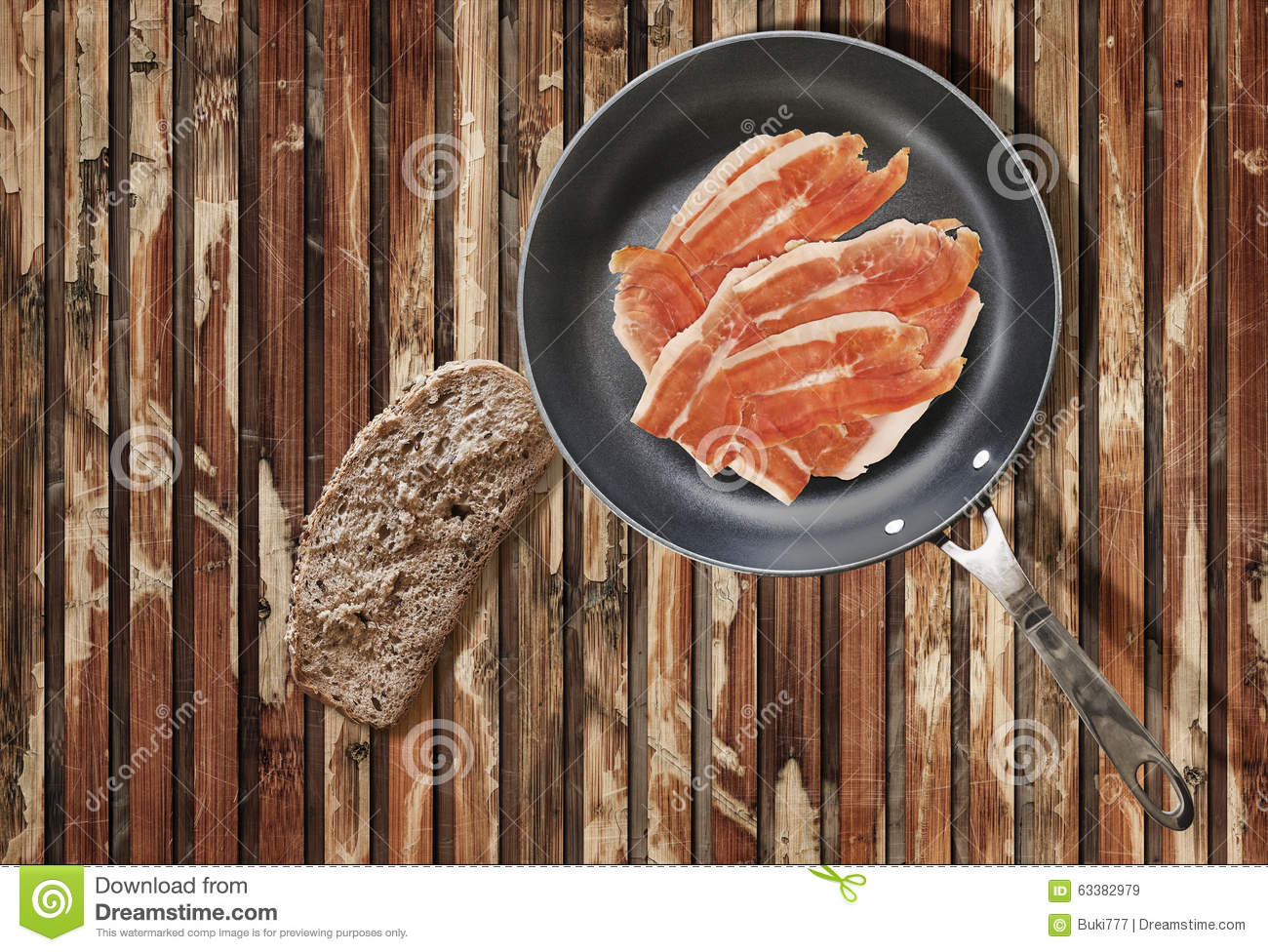 how to cook pork rashers in a pan