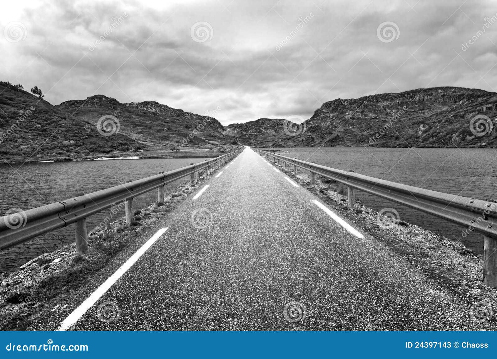 Prospettiva della strada