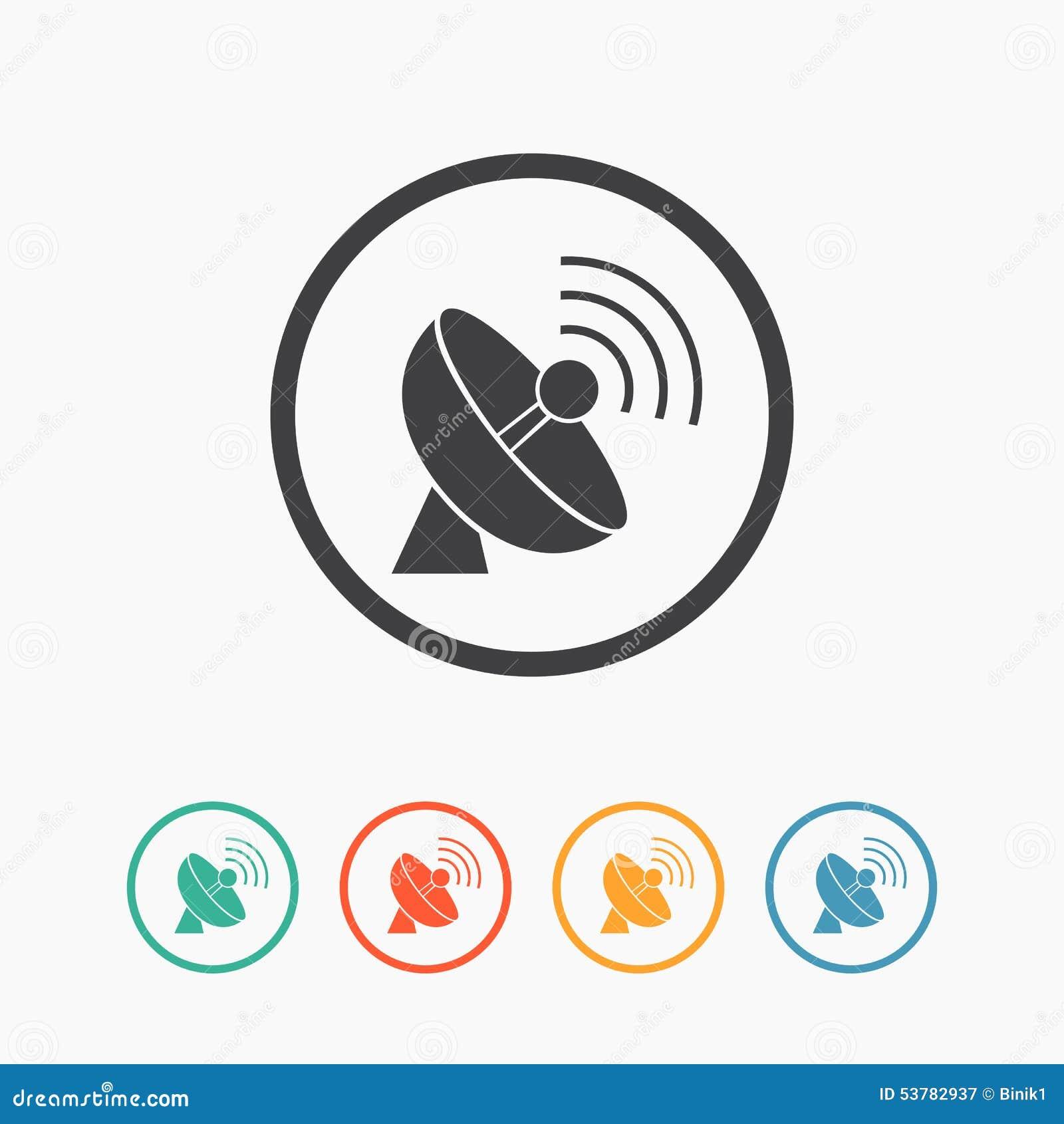 Prosta anteny ikona
