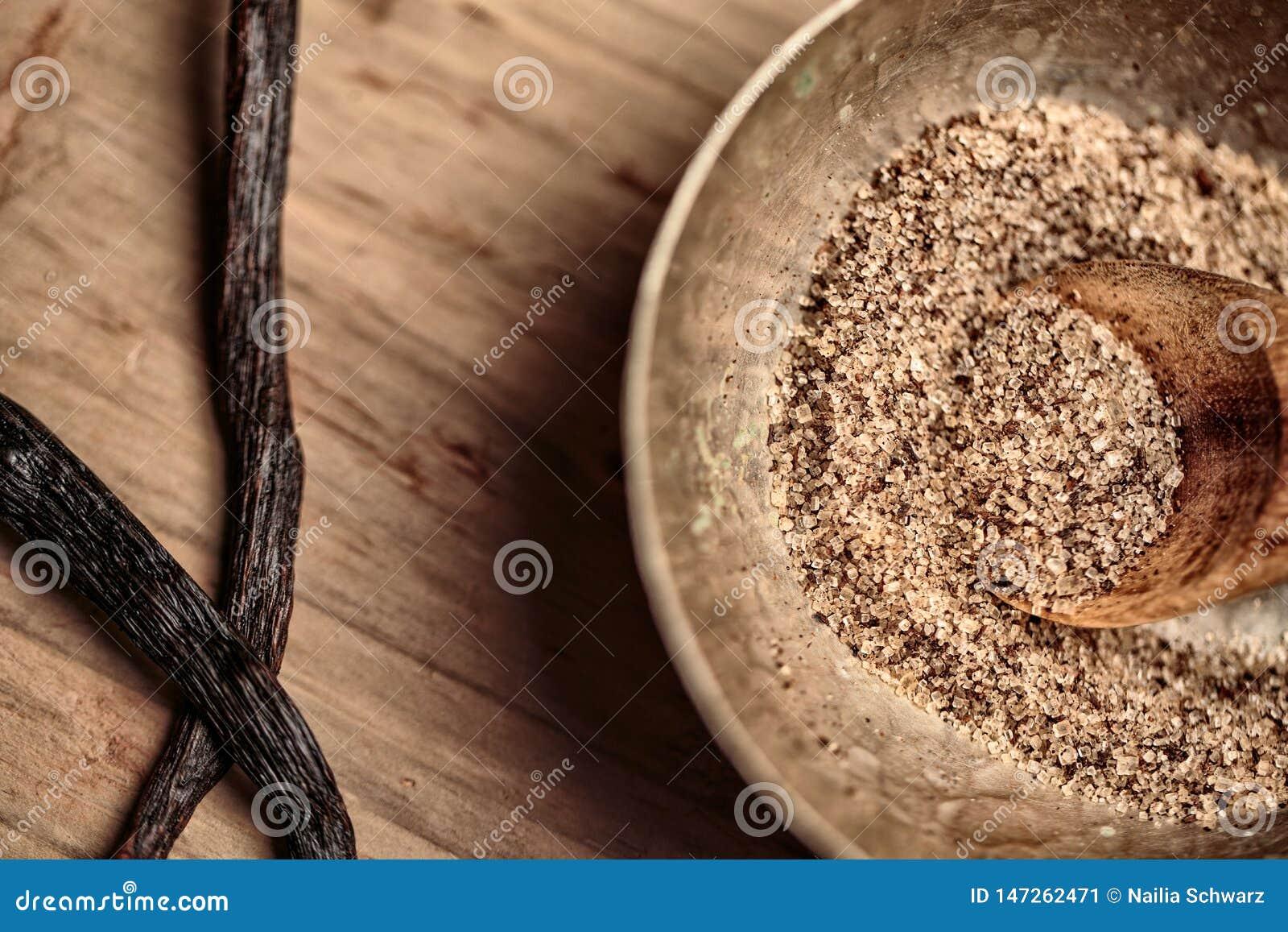 Prostacki cukier i wanilia