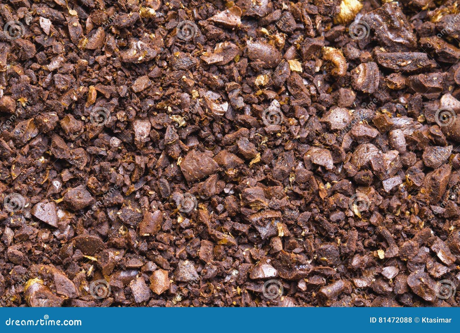 Prostacki zmielony kawowy tło
