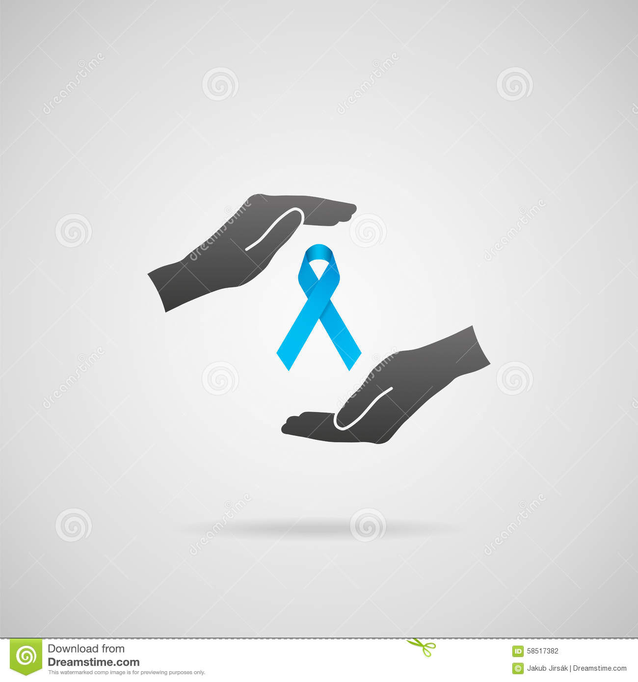 Prostate Cancer Prevention Stock Vector - Image: 58517382