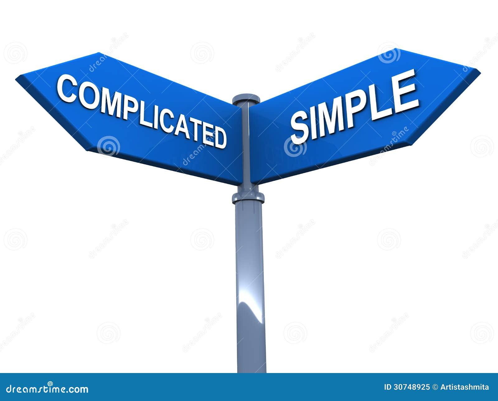 Prosty vs skomplikowany