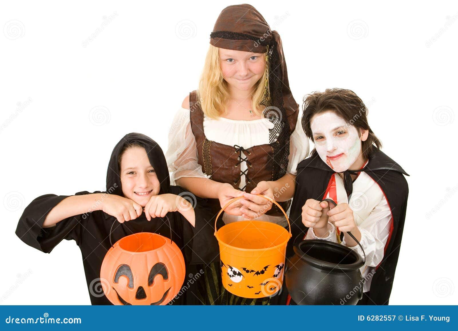 Proszę cukierków Halloween.