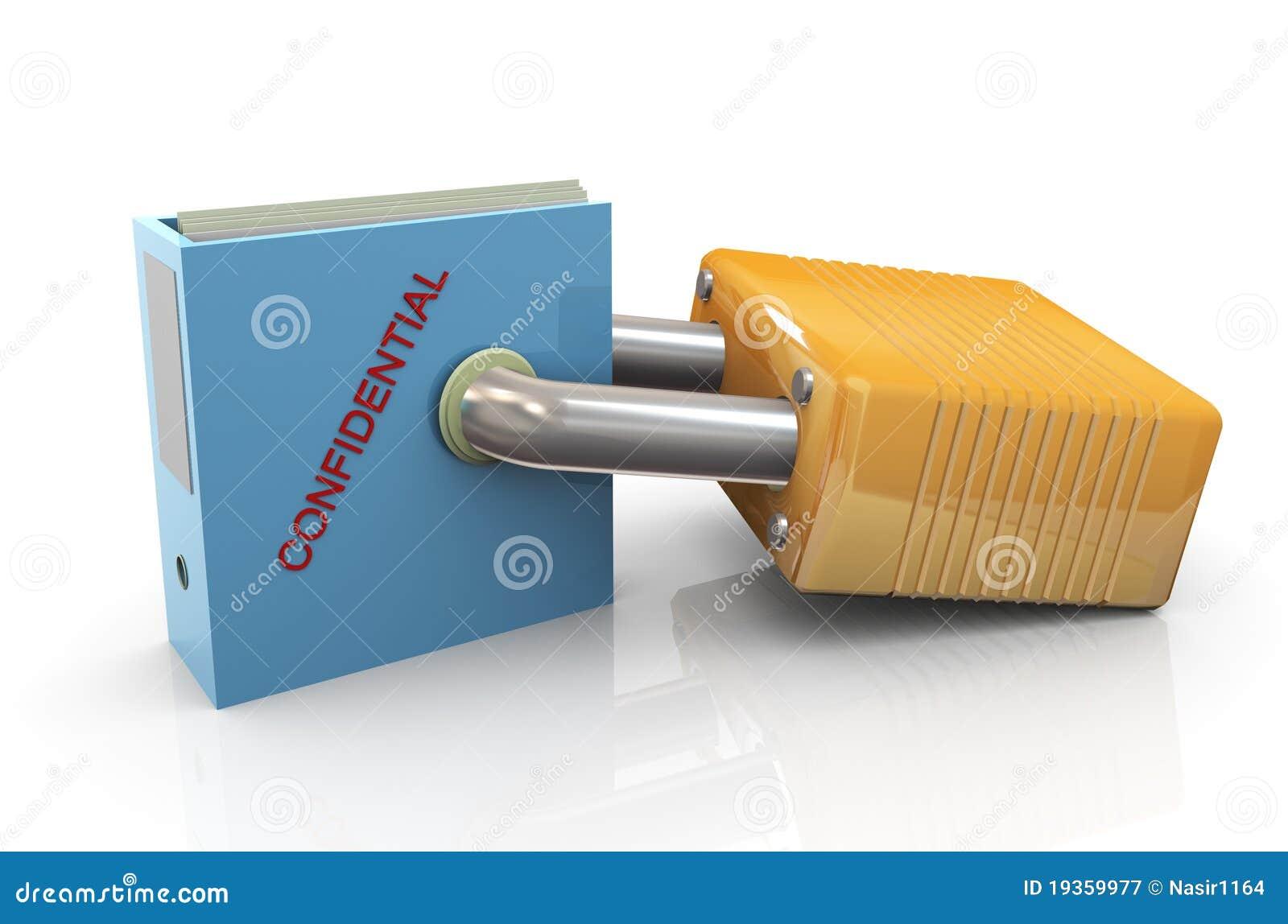 Proteção de arquivos confidenciais