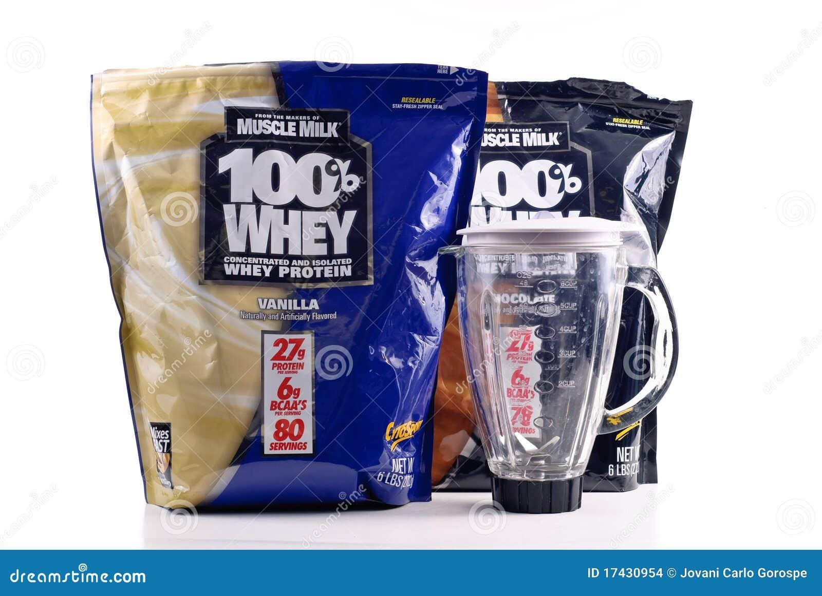 Proteína de la leche del músculo