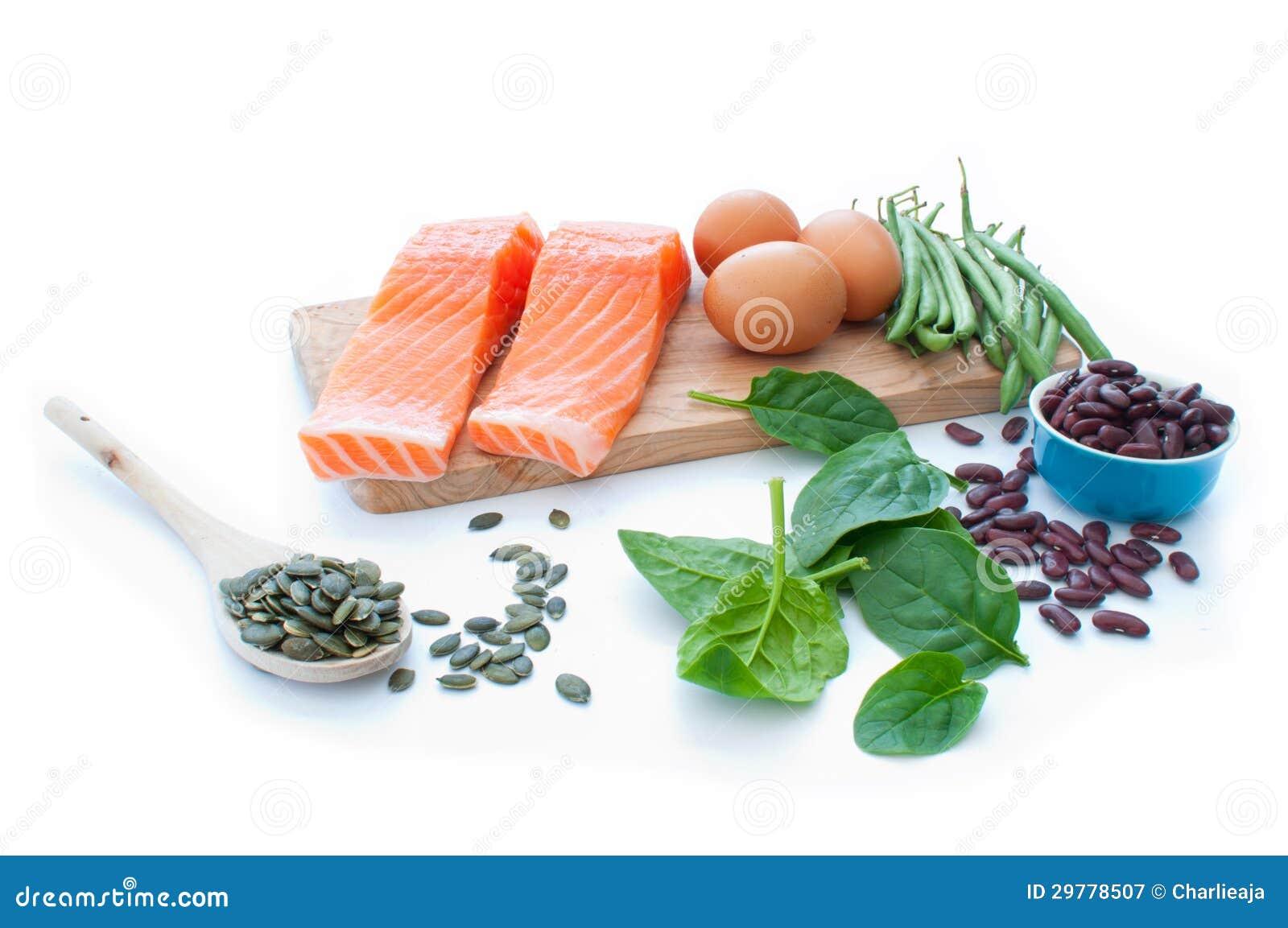 voedsel met proteine