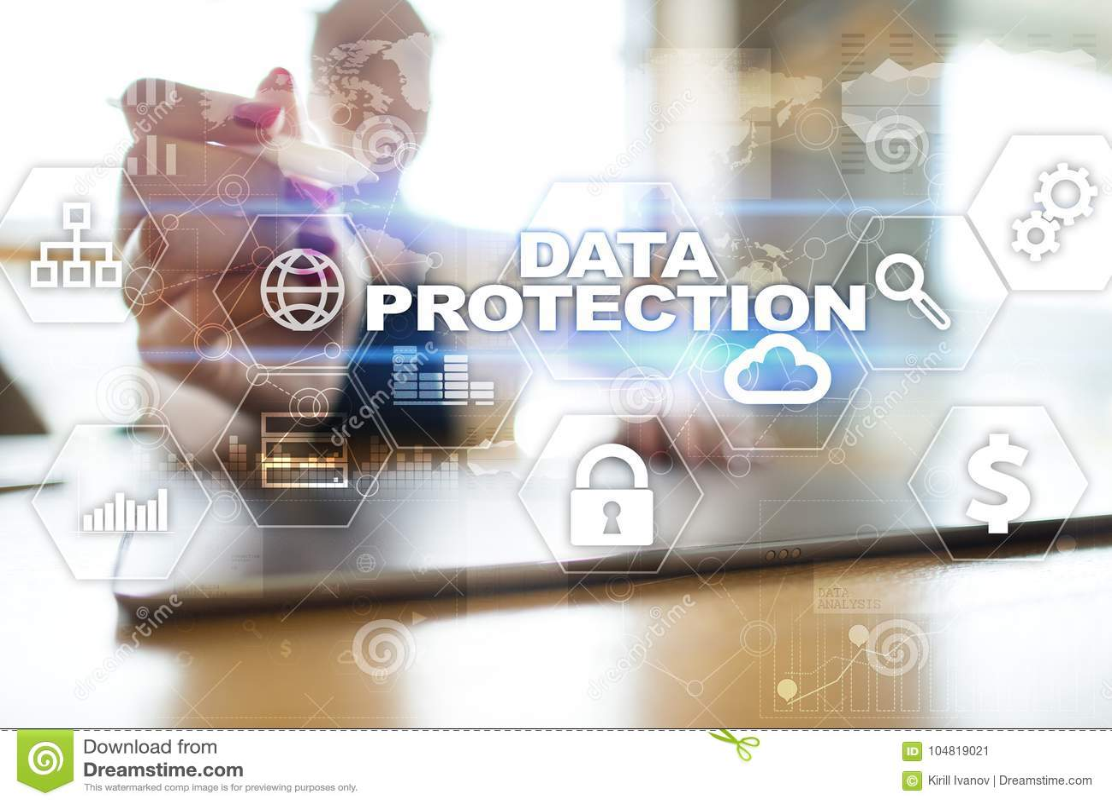 Protección de datos, seguridad cibernética, seguridad de la información y encripción