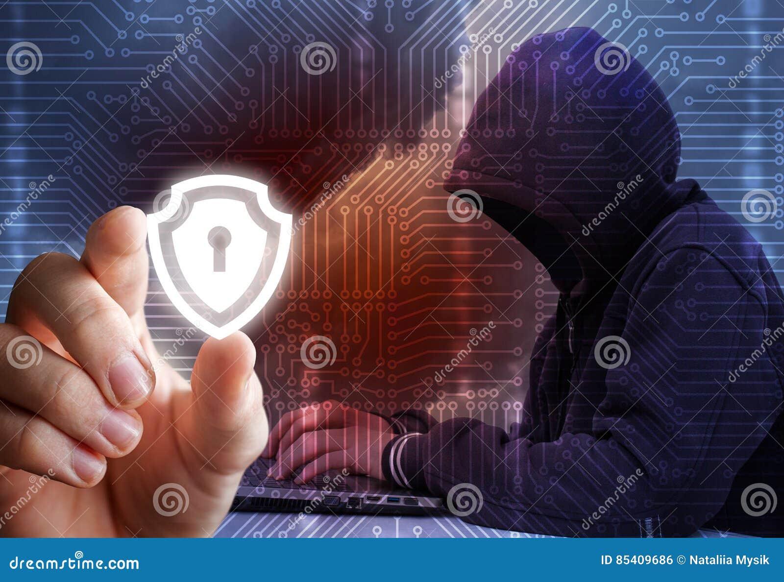 Protección de la información contra piratas informáticos