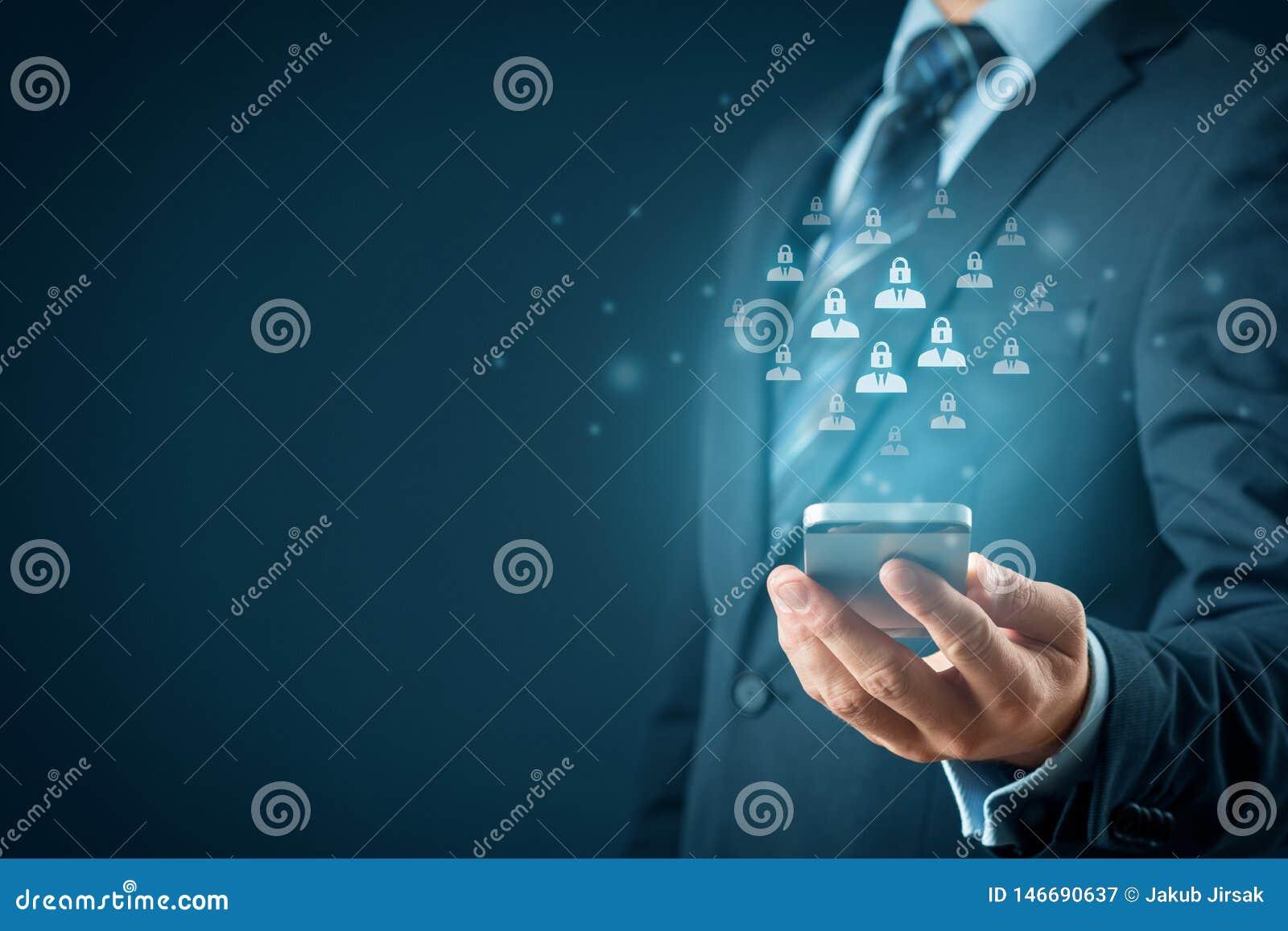 Protecci?n de datos personal y GDPR