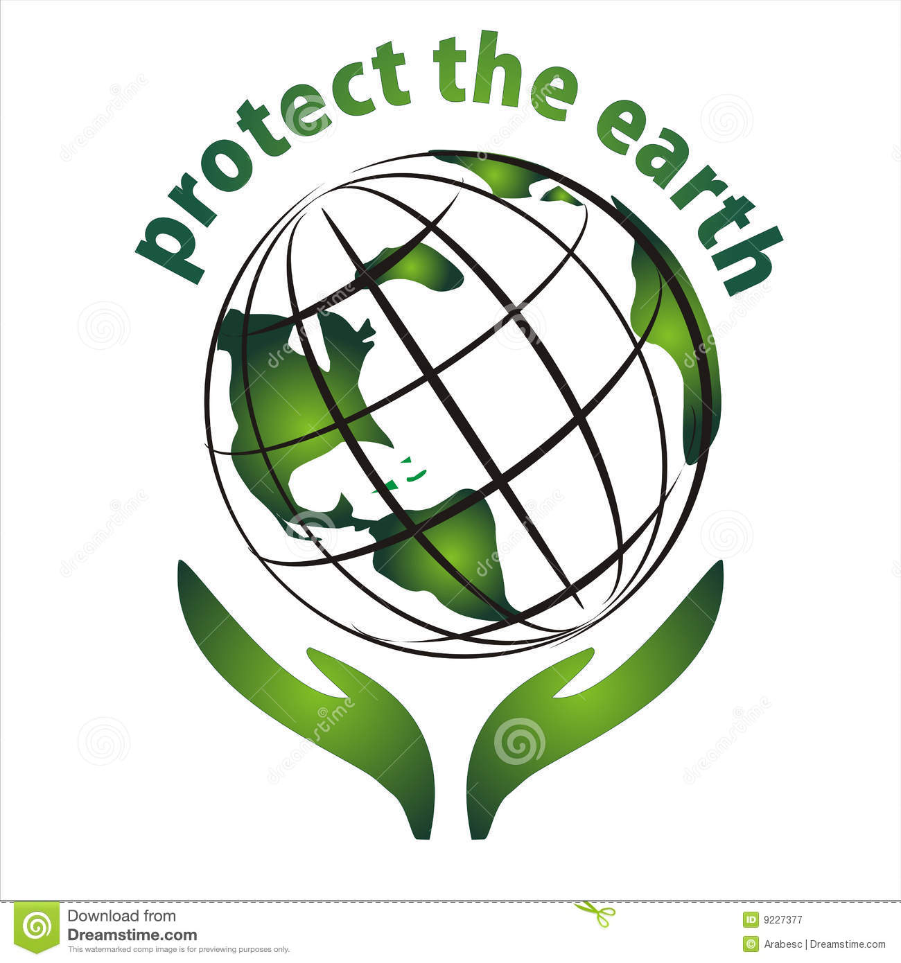 Protect The Earth Icon Royalty Free Stock Photography - Image: 9227377
