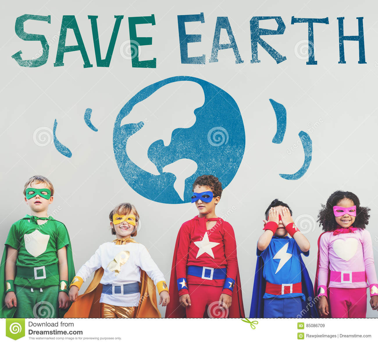 Protect Save Earth Nature Planet Concept
