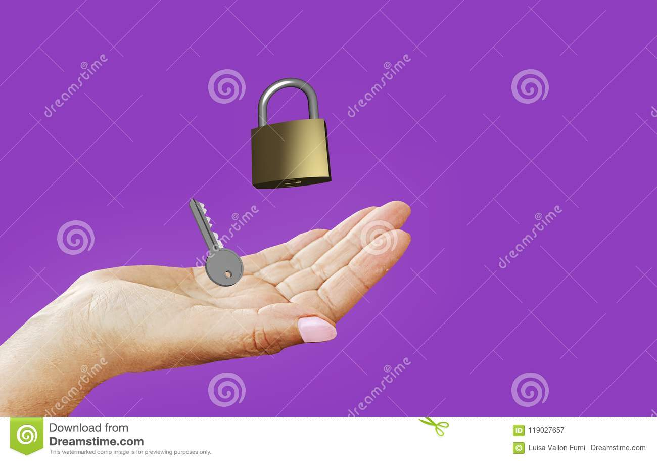 A okay lock and key