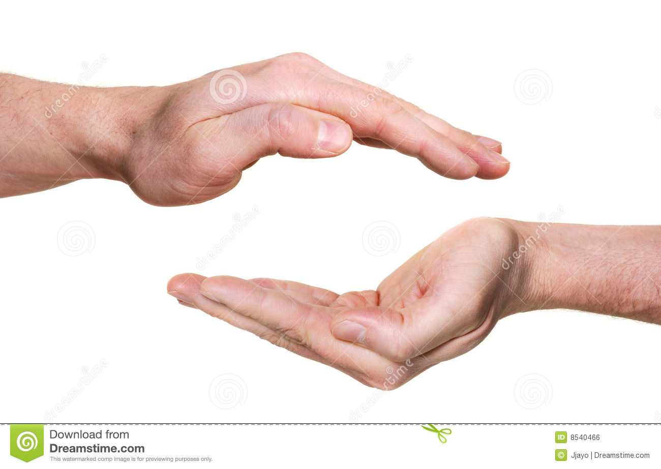 Protecting Hands Royalty Free Stock Image Image 8540466