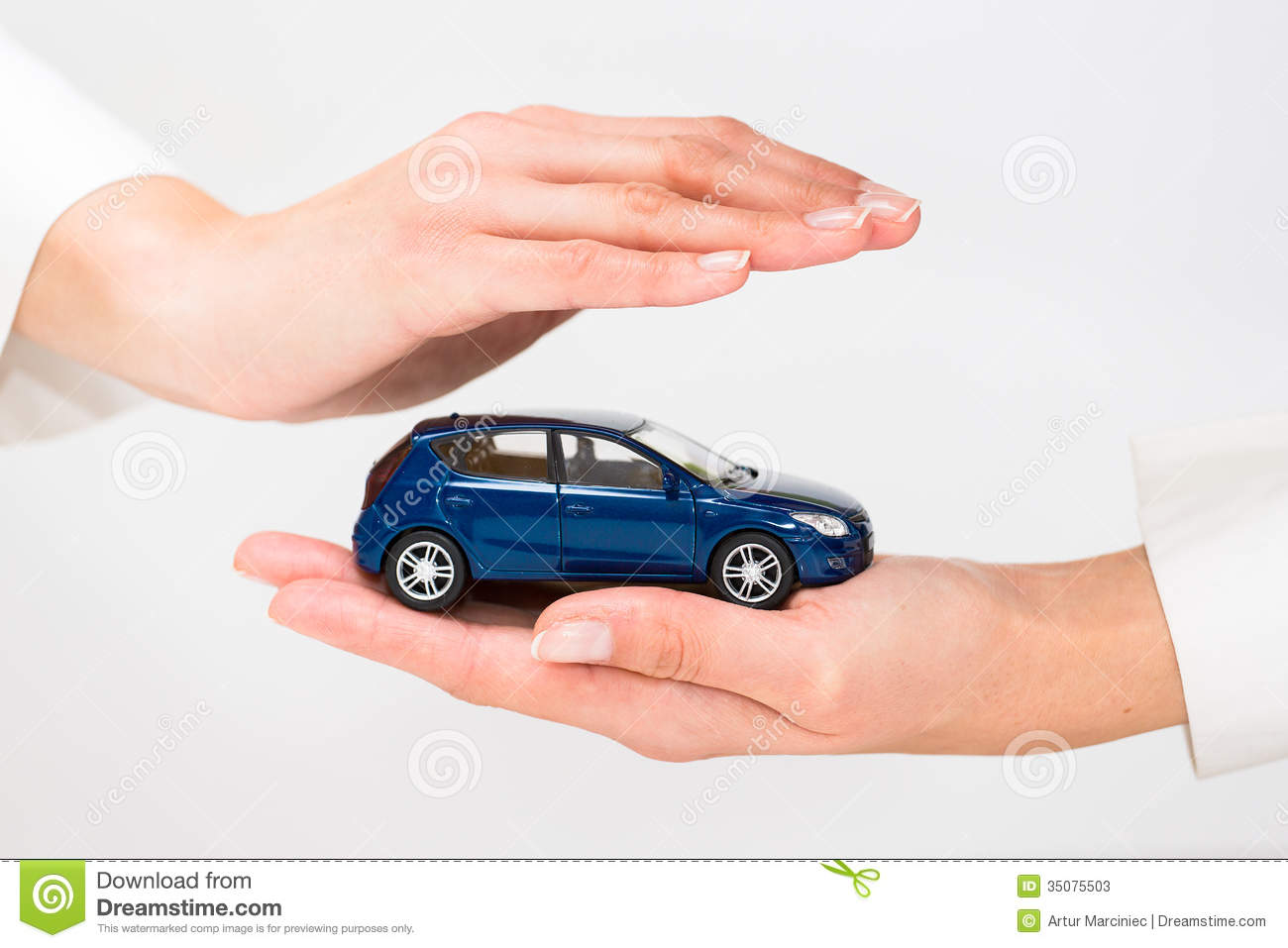 Protection Of Car Stock Image Image Of Auto Repair 35075503