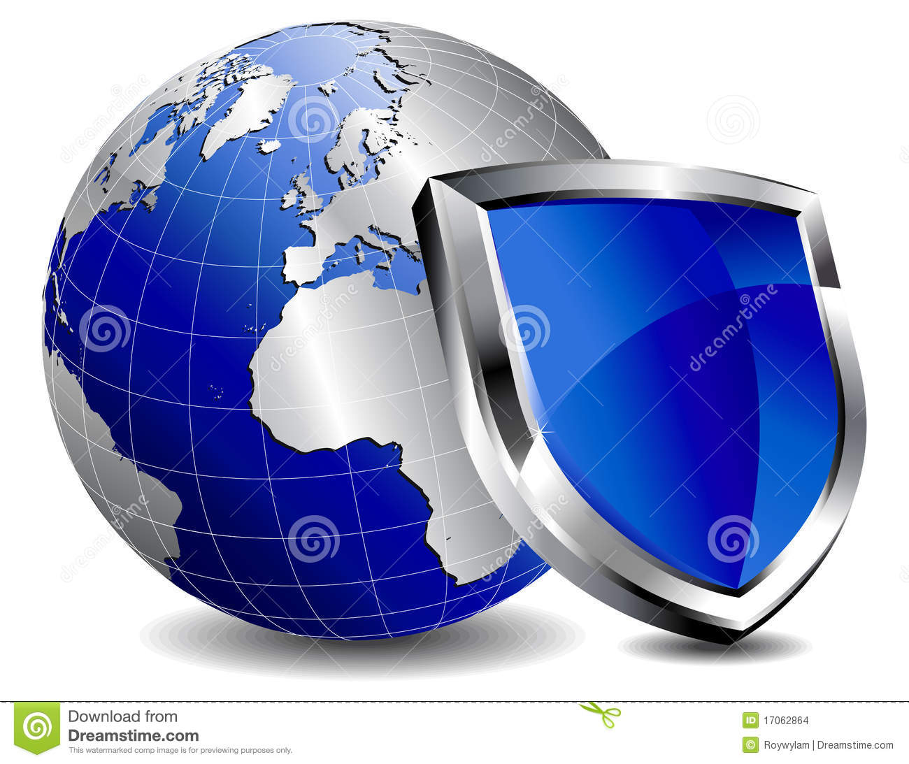 Protection Shield Firewall Stock Images - Image: 17062864