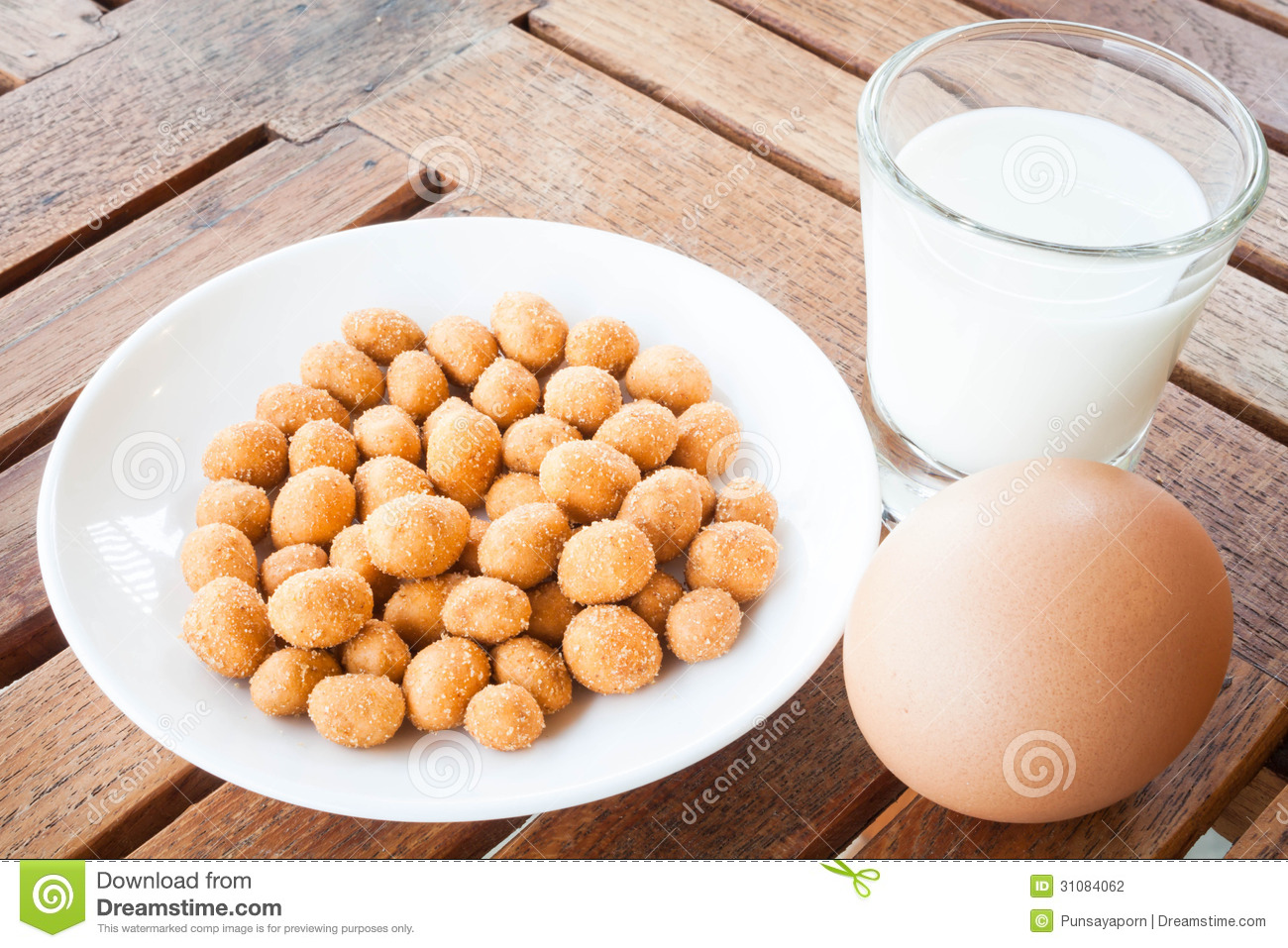 Protein nutrients of peanut ,milk and egg.