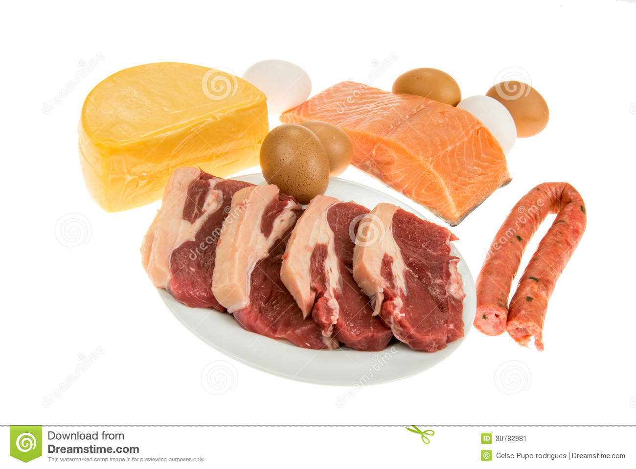 PROTEIN Source Stock Image - Image: 30782981