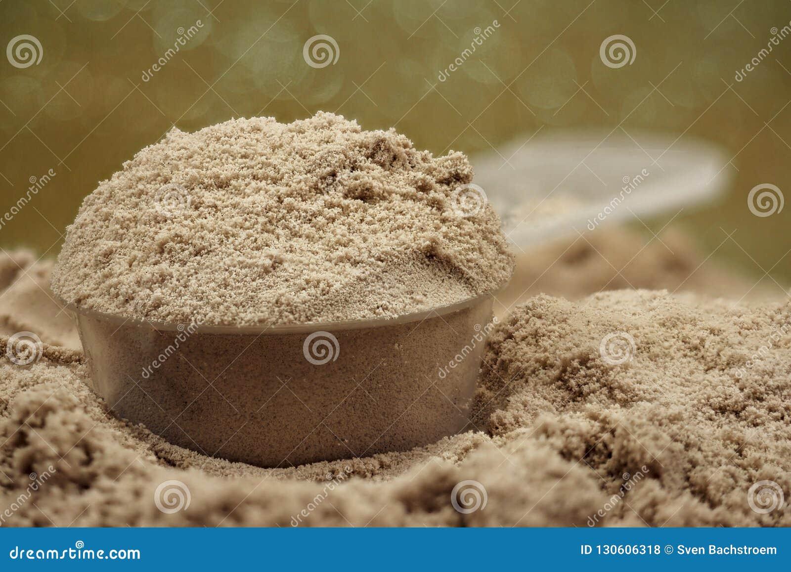 banta med proteinpulver