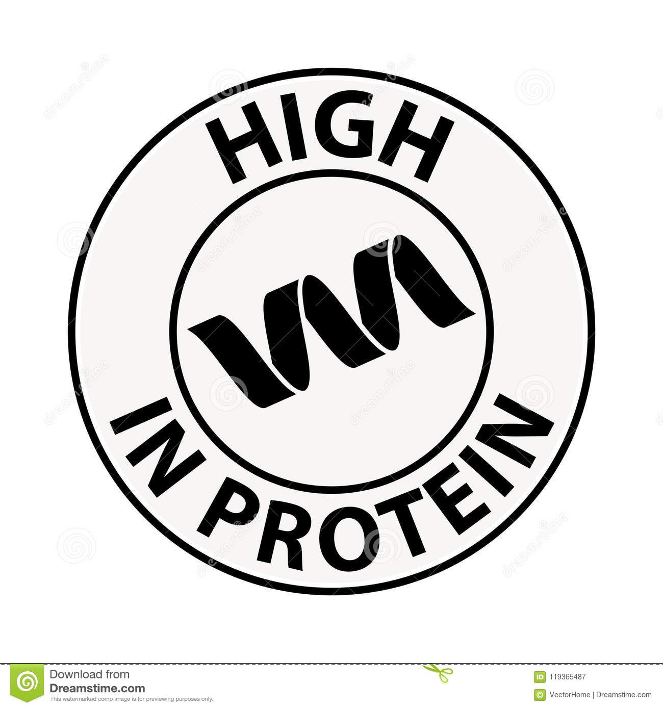 Proteinsymbol, illustration