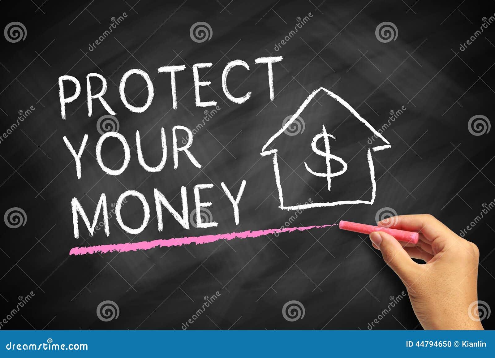 Proteja seu dinheiro