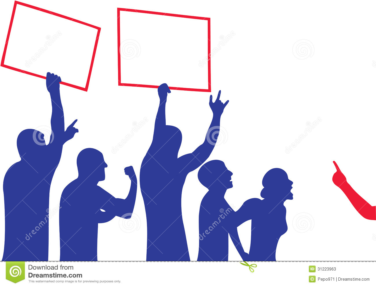 Time For Civil Disobedience >> Protest stock vector. Illustration of policies, actions - 31223963
