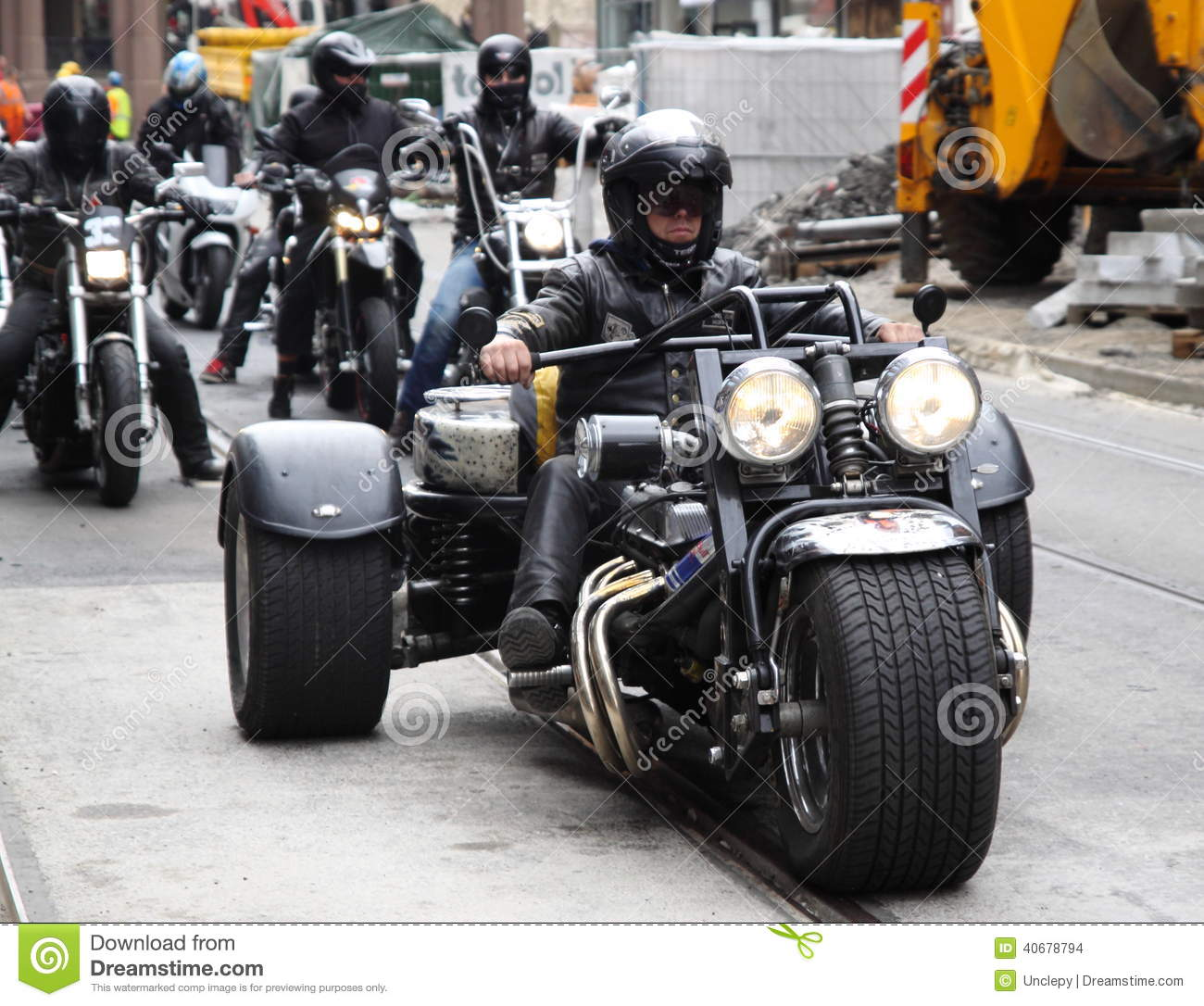 Worth Harley Davidson >> Protest Of Motorcycle Clubs. Oslo. Editorial Stock Image ...