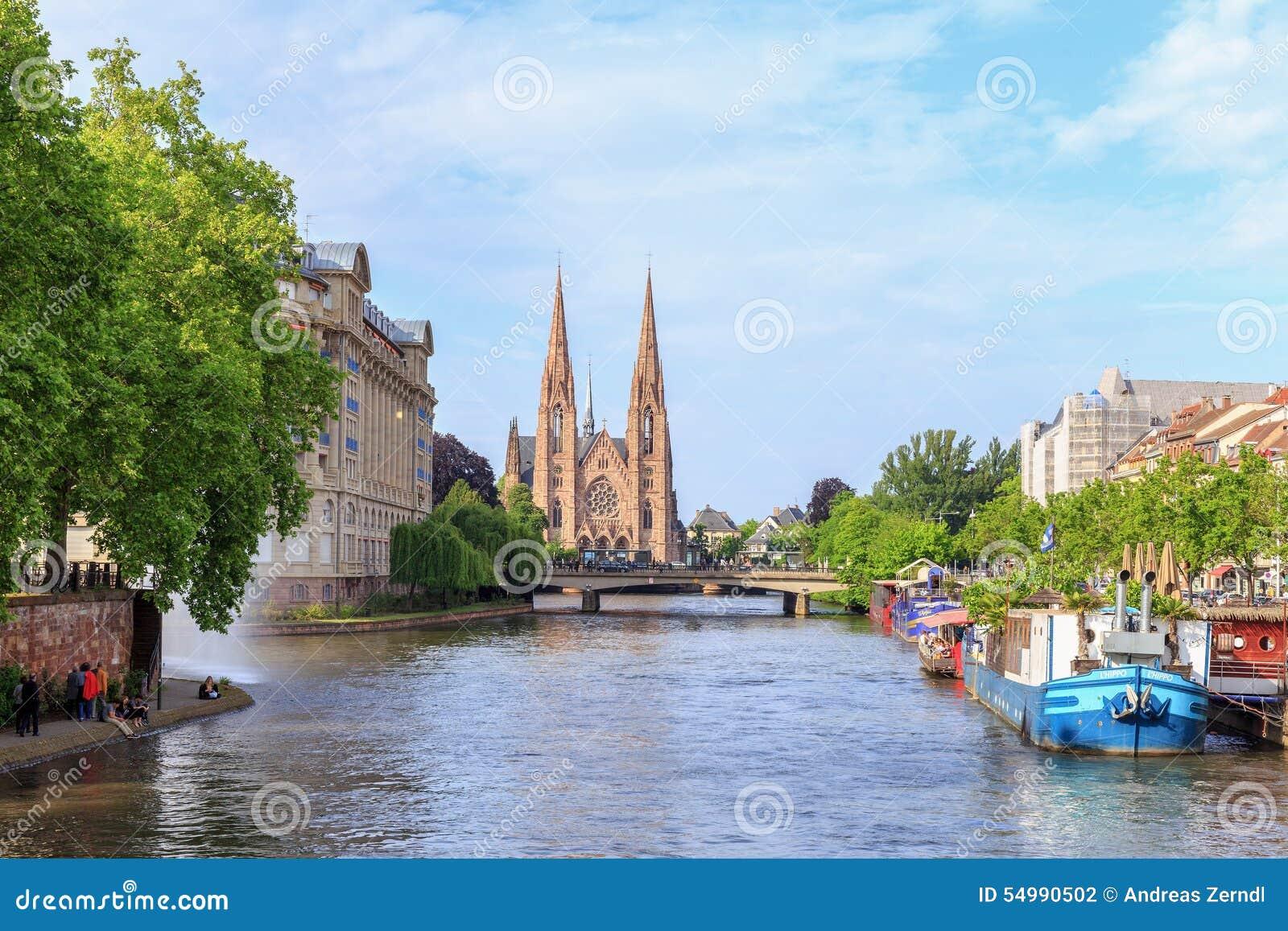 Protestantkyrka Strasbourg