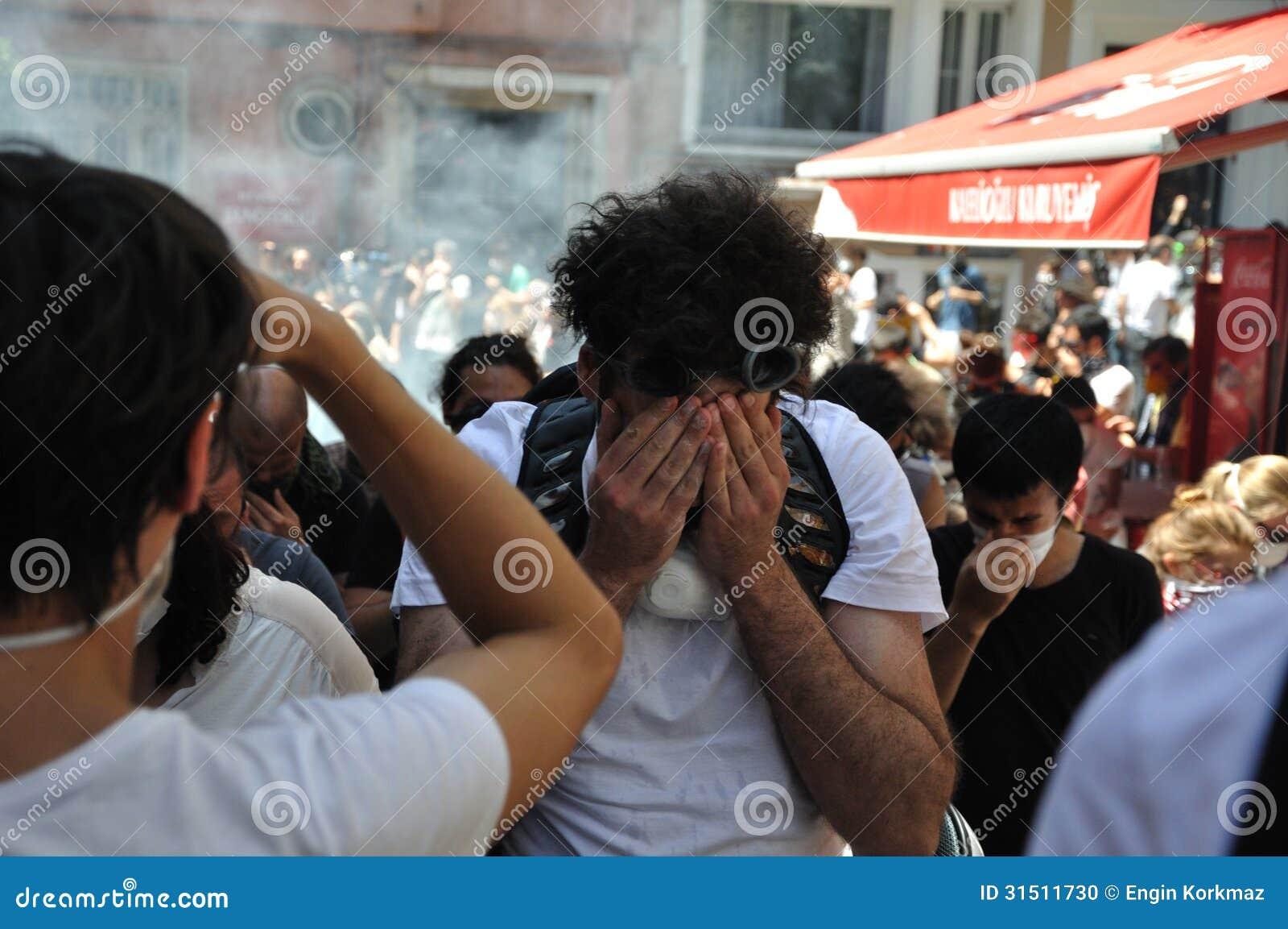 Proteste del parco di Gezi a Costantinopoli