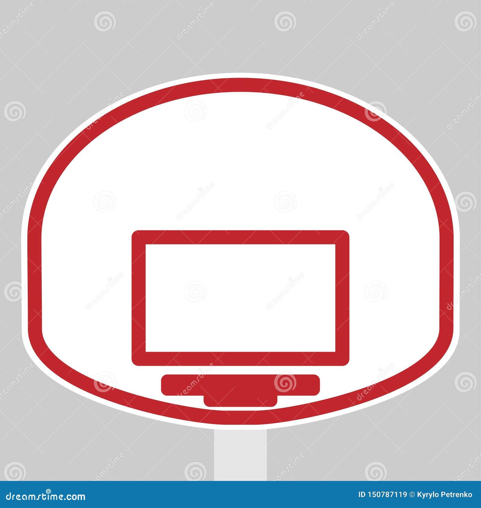 Protetor e anel da cesta para o basquetebol