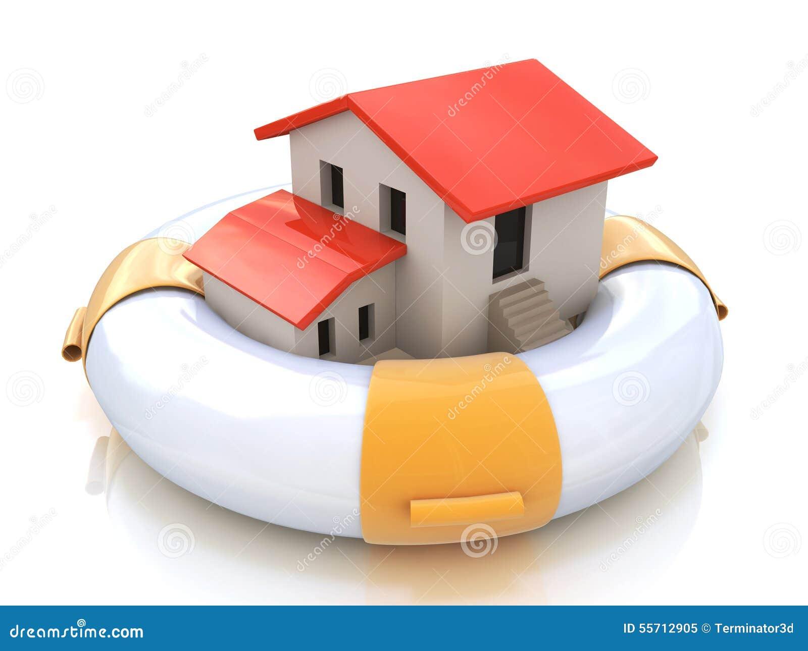 Protezione del proprietario domestico di assicurazione della Camera dal ratto di interessi ipotecari