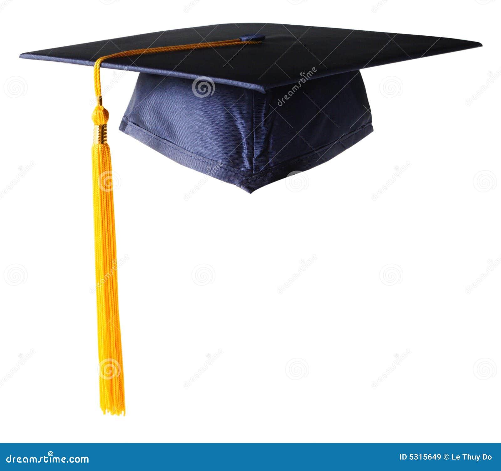 Download Protezione di graduazione immagine stock. Immagine di cielo - 5315649