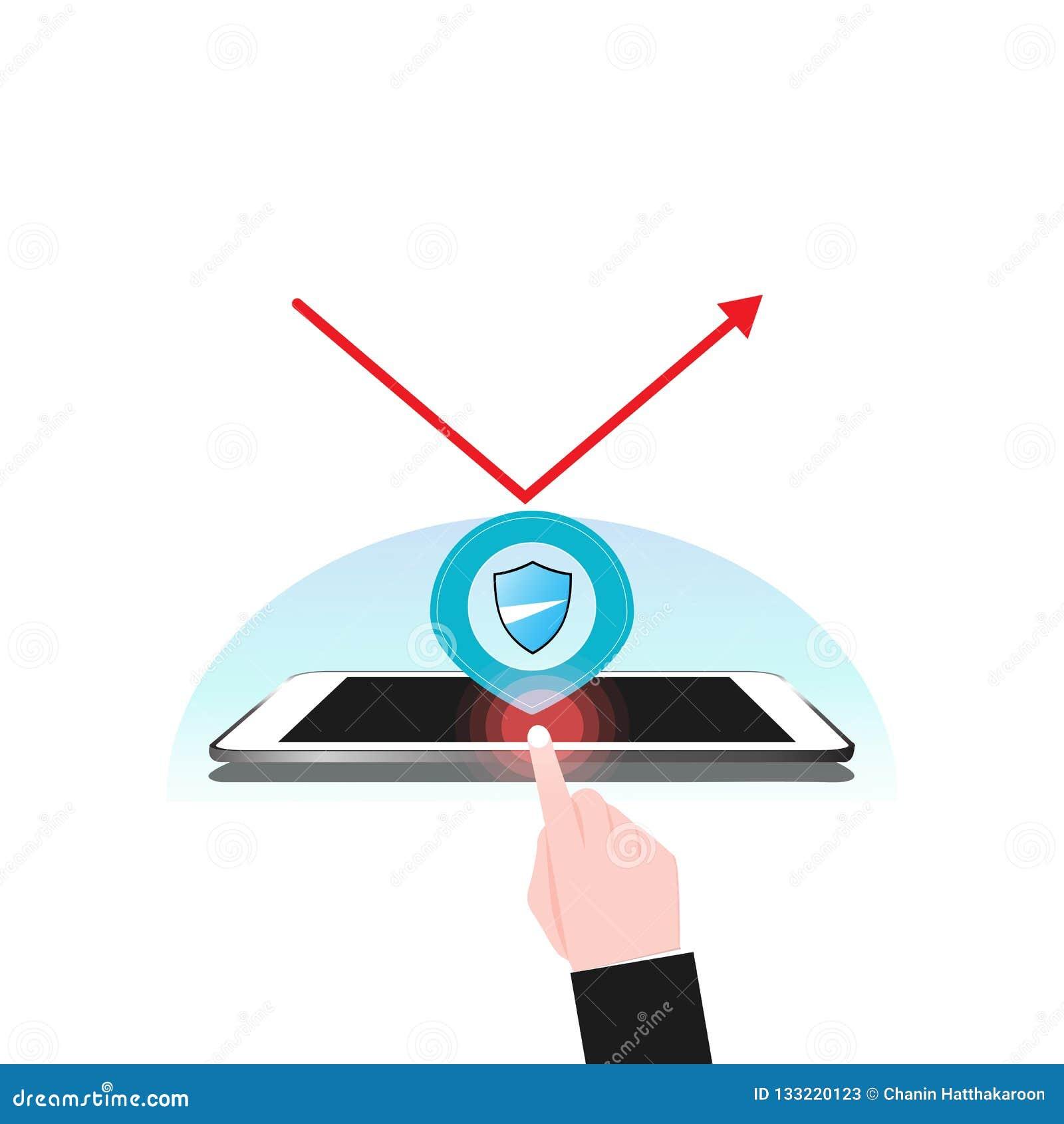 Protezione V Dello Schermo Del Sistema Di Sicurezza Di ...