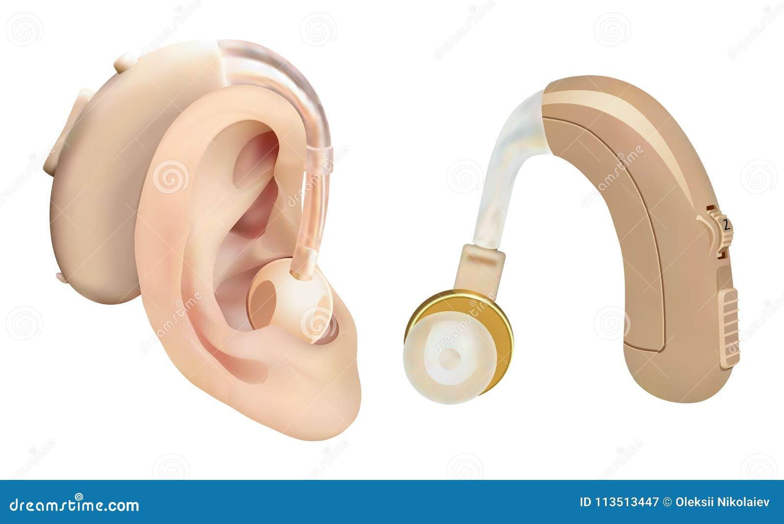 1f587873cf77cb Prothèse auditive derrière l oreille Amplificateur sain pour des patients  présentant la perte d audition Traitement