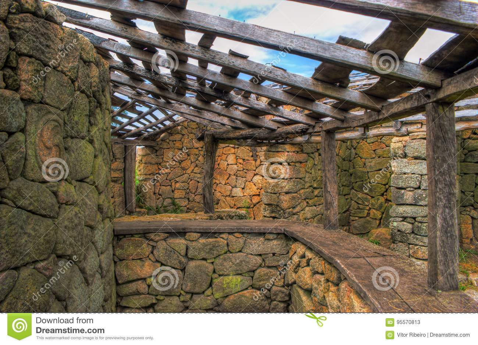 Proto-historic settlement in Sanfins de Ferreira
