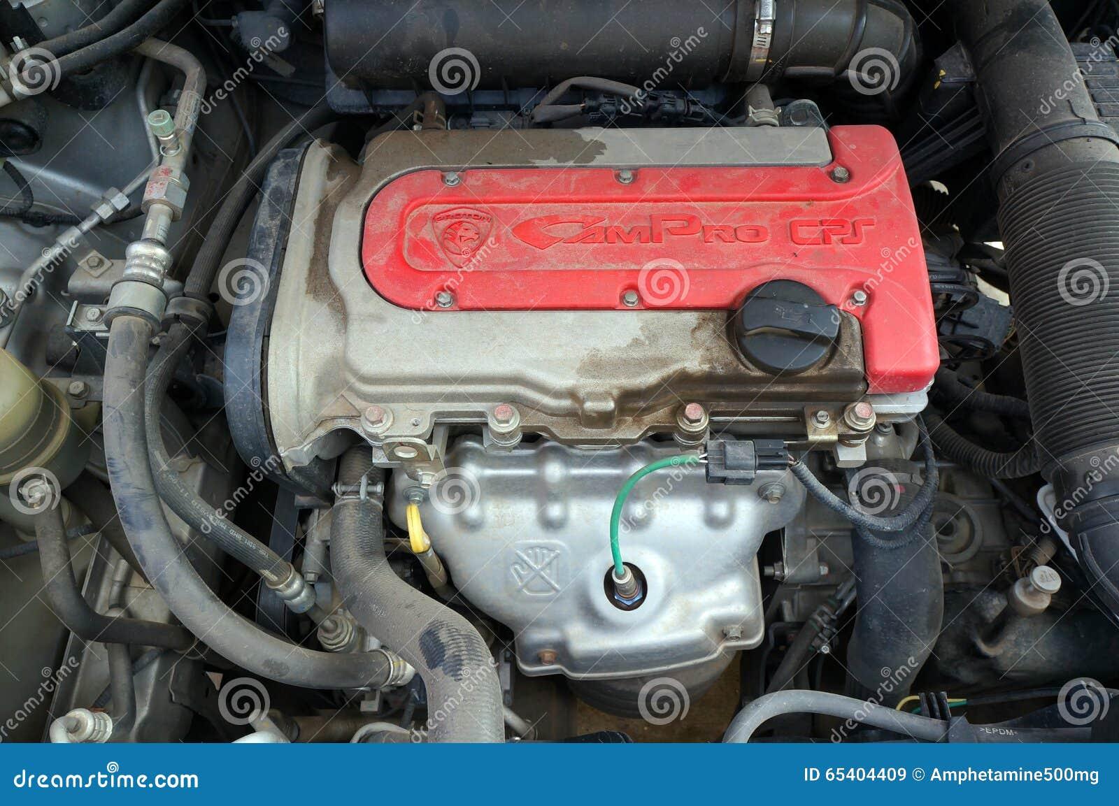 proton exora engine editorial stock image image  machinery