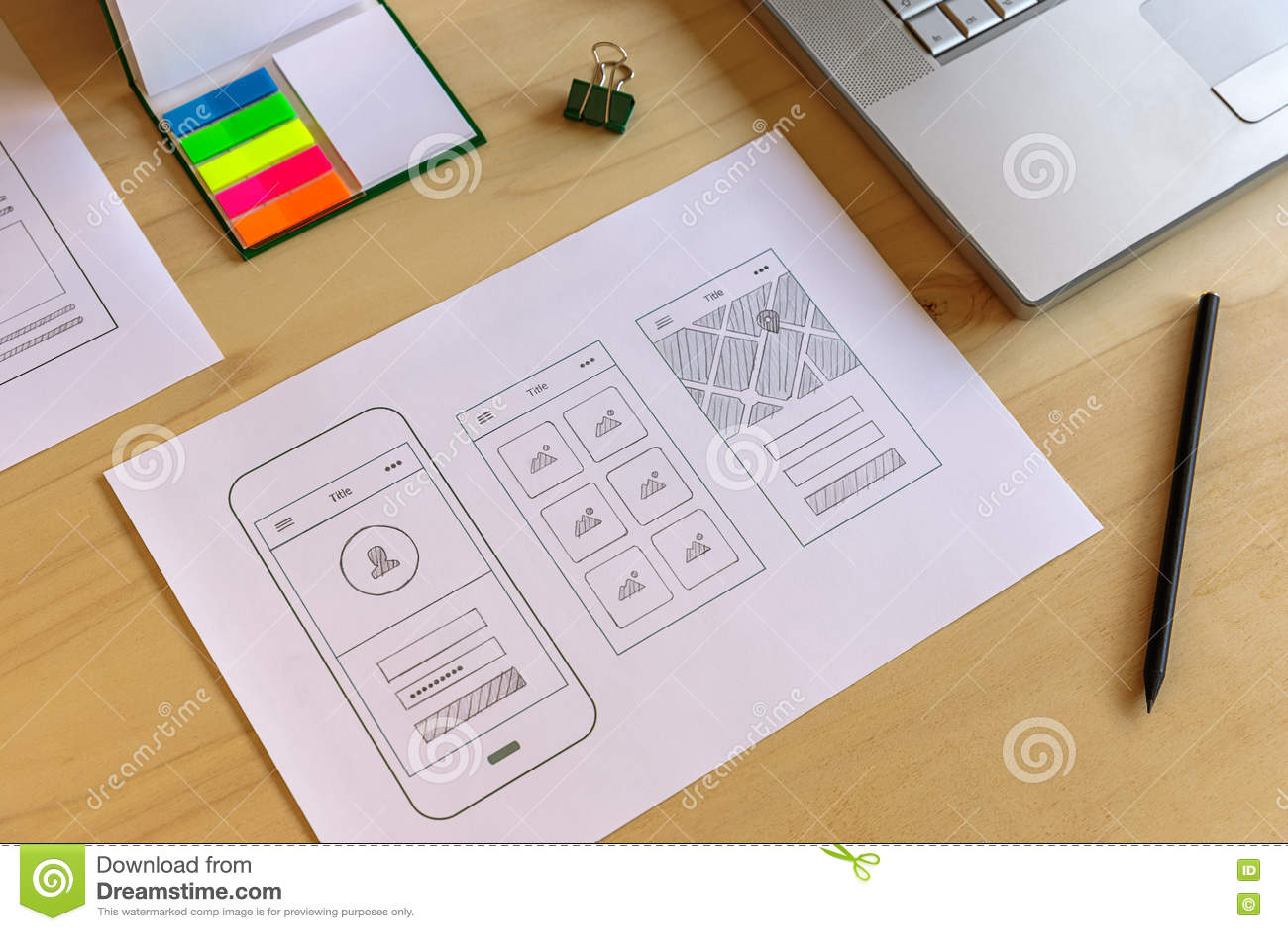 Prototipo móvil del app