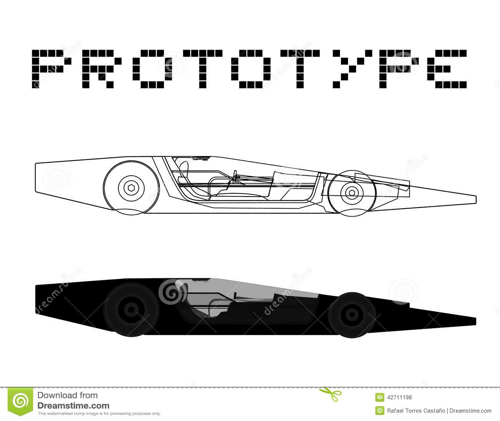 Prototypbil