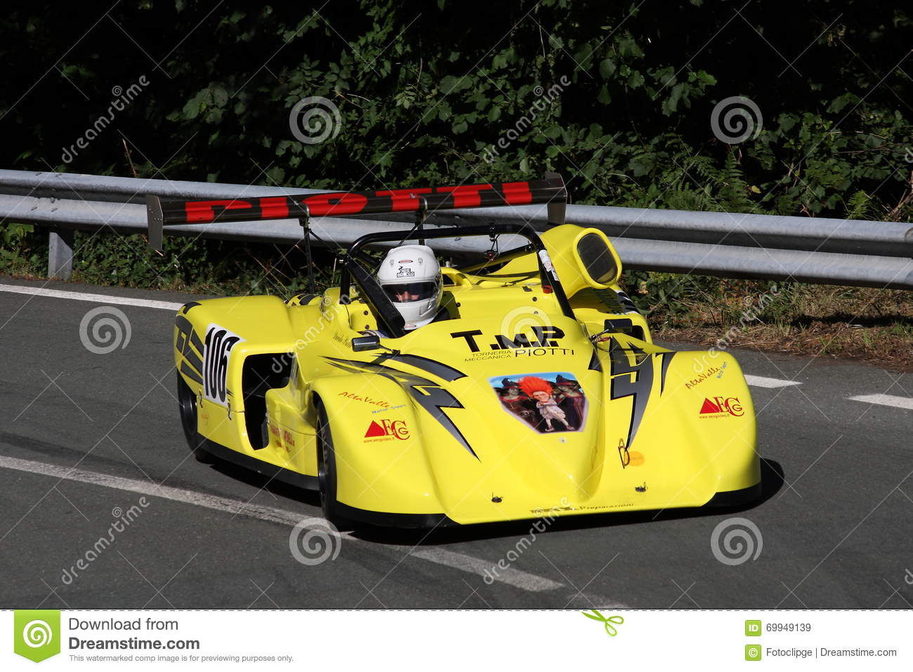 Prototype sports car race editorial stock image  Image of