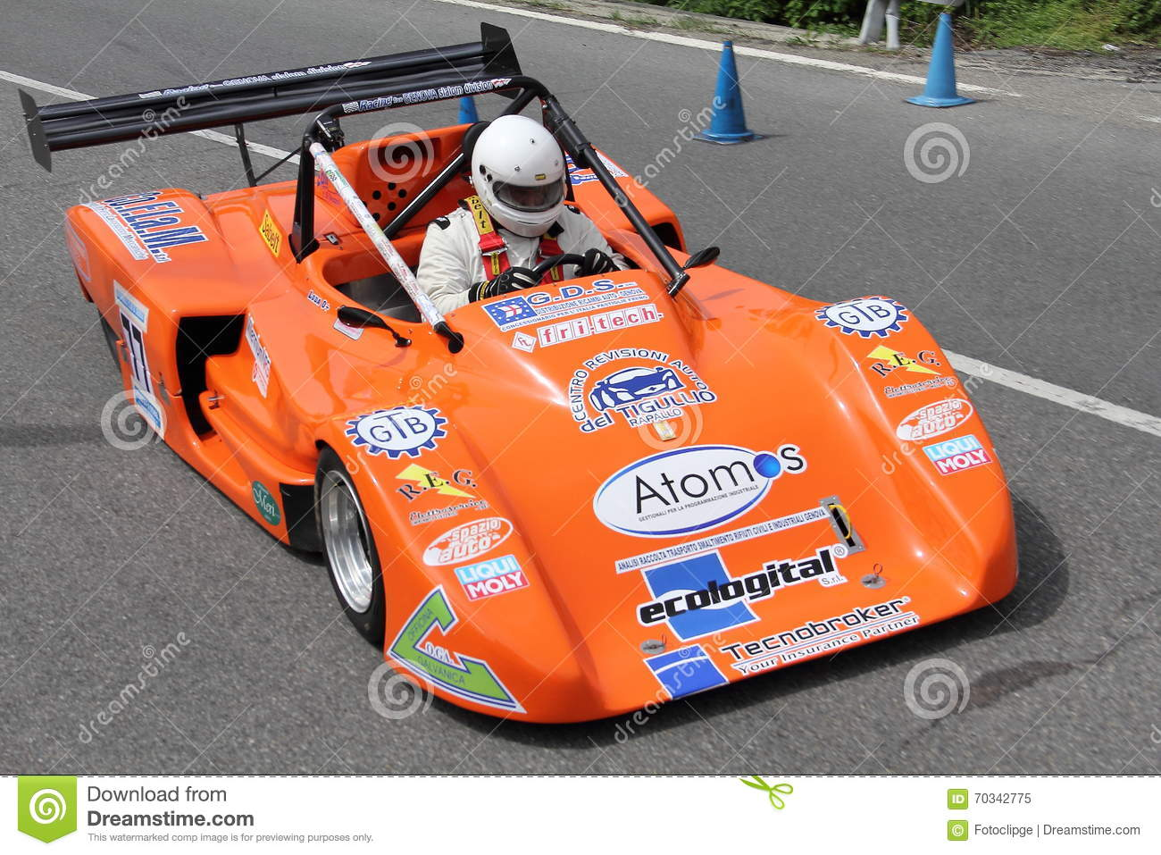 Prototype sports car race editorial image  Image of