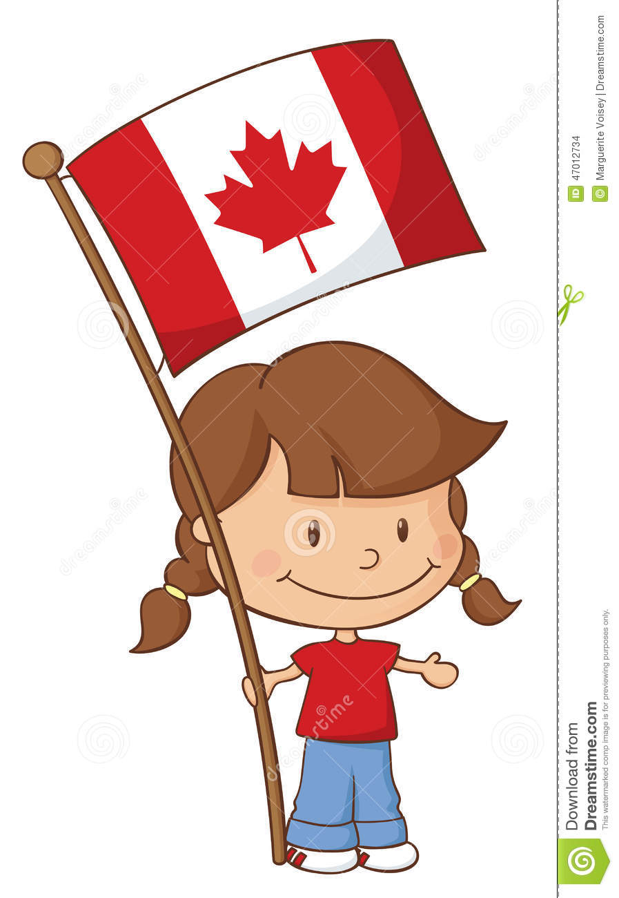proud to be canadian stock vector image 47012734
