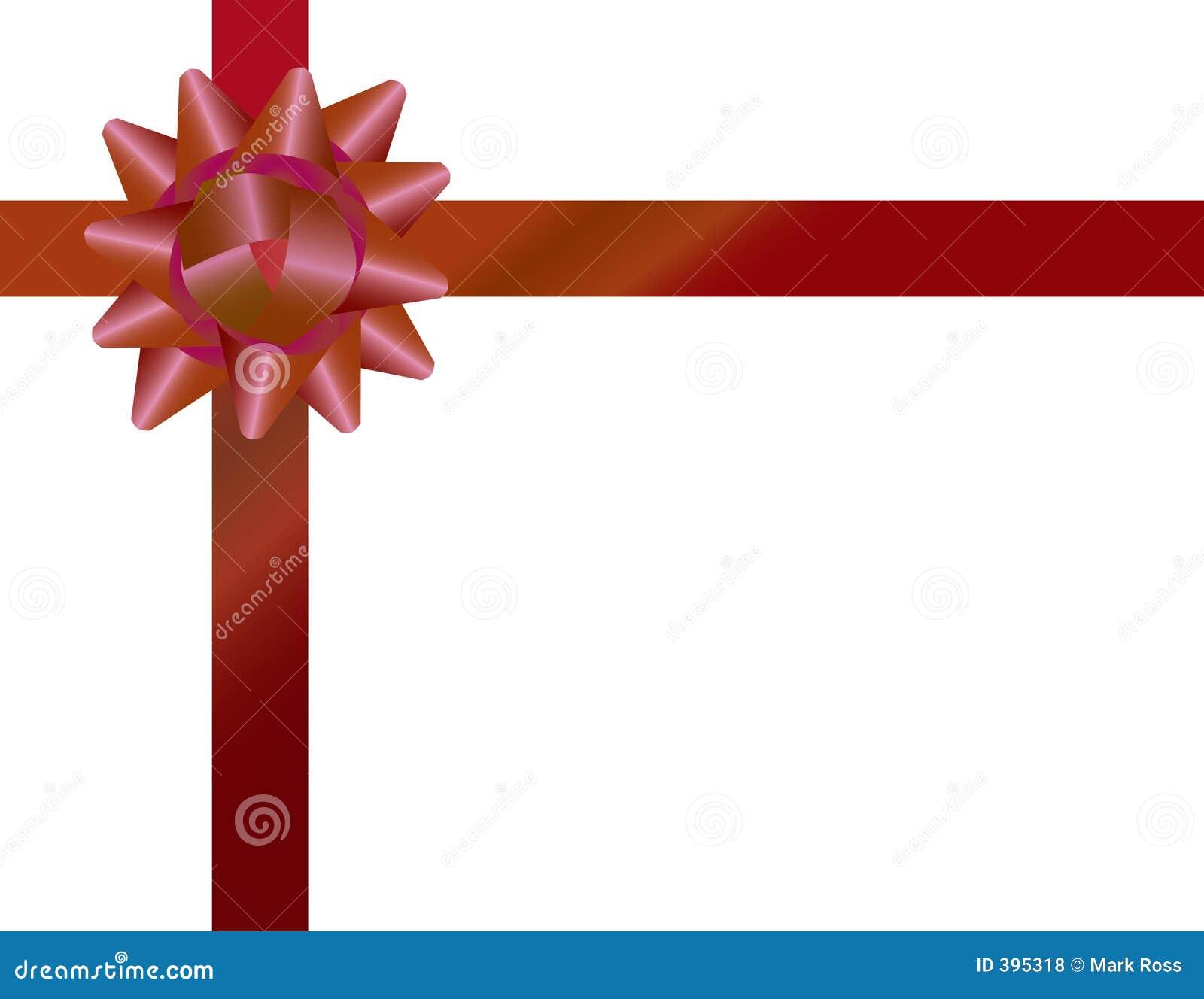 Proue Et Bande D'emballage De Cadeau Photos libres de ...
