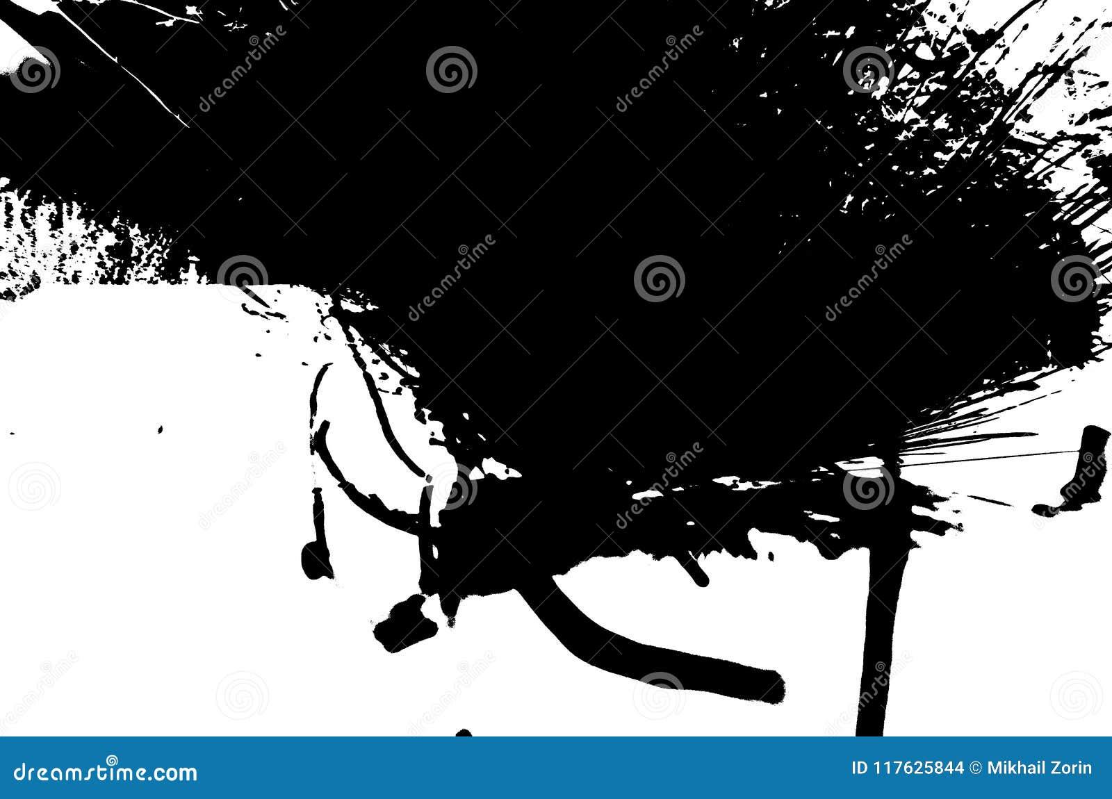 Prov för fotoRorschach inkblot